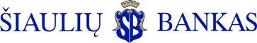 Siauliu bankas logo