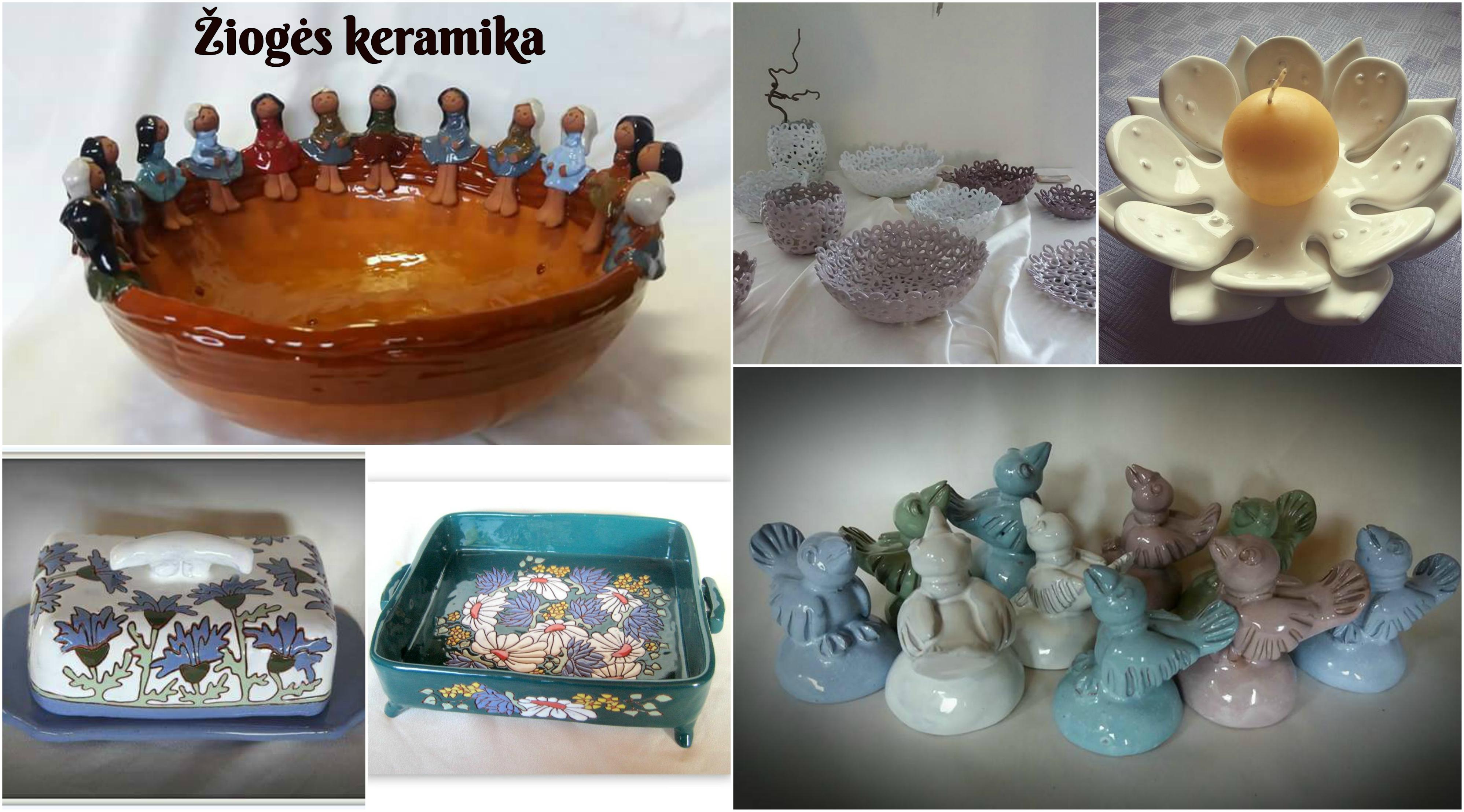 Žiogės keramika