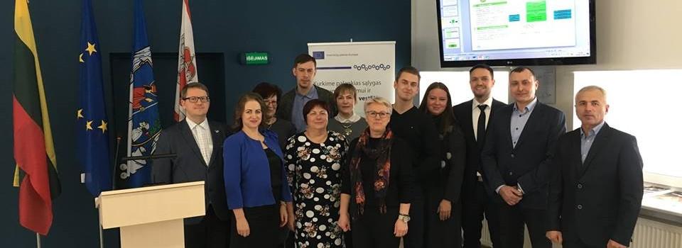 """Seminaras """"Investicijų plano Europai teikiamos galimybės Lietuvos regionams"""""""