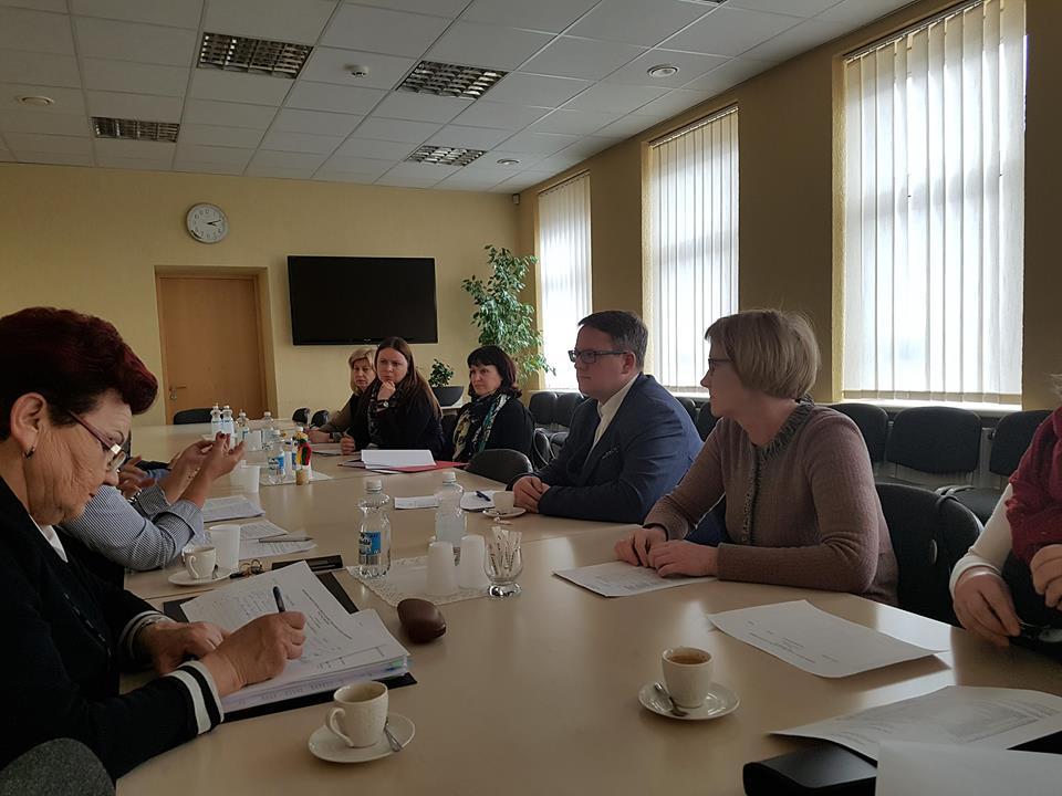 Vyko Mažeikių miesto VVG Valdybos posėdis