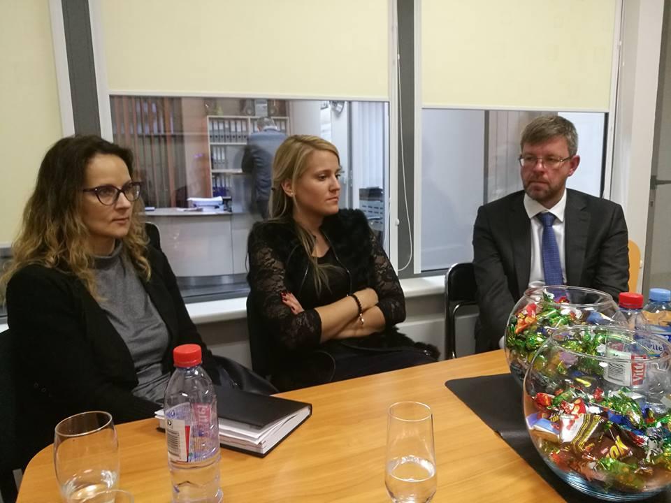 Susitikimas su LR ambasadoriumi Ukrainoje Mariumi Janukoniu