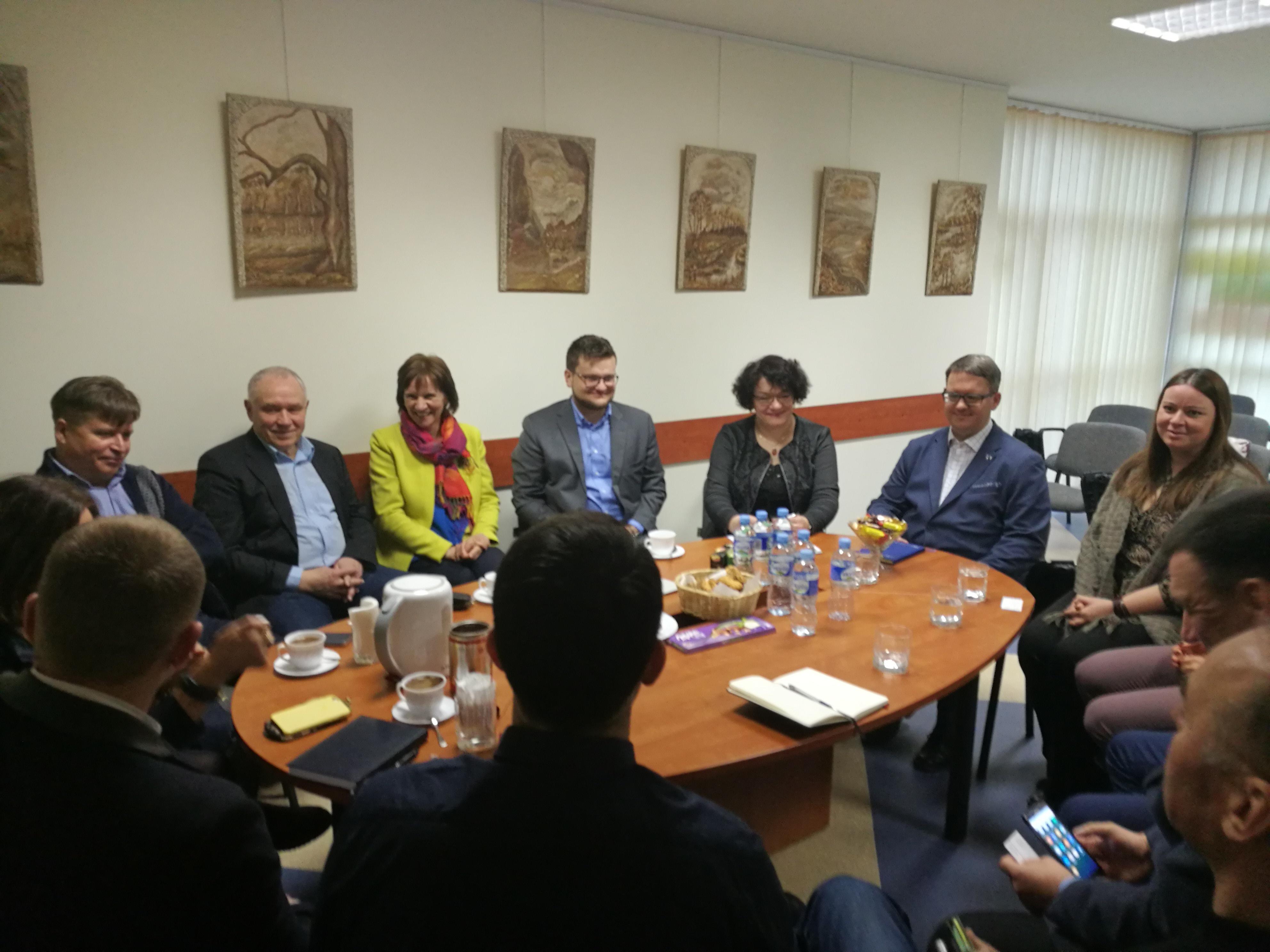 Verslininkų asociacijų susitikimas