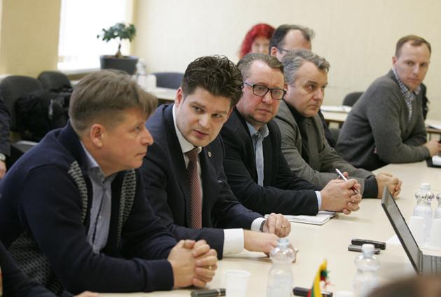 Susitikimas su Mažeikių rajono savivaldybės vadovais